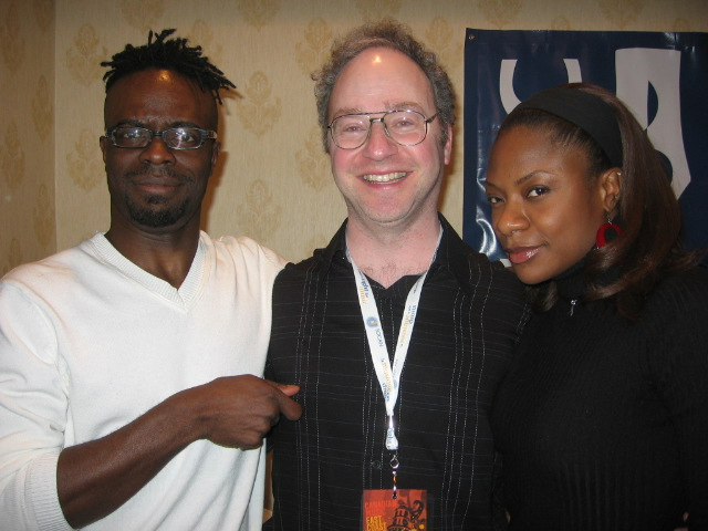 me and Haydan Neale and Jully Black